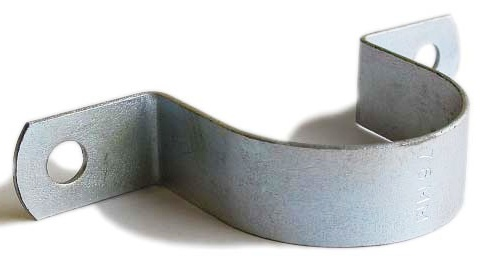 Bright Zinc Plate Saddle Clips