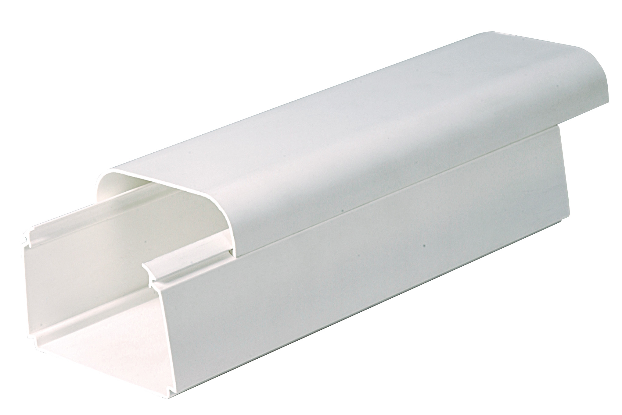Trunking 125mm x 75mm White
