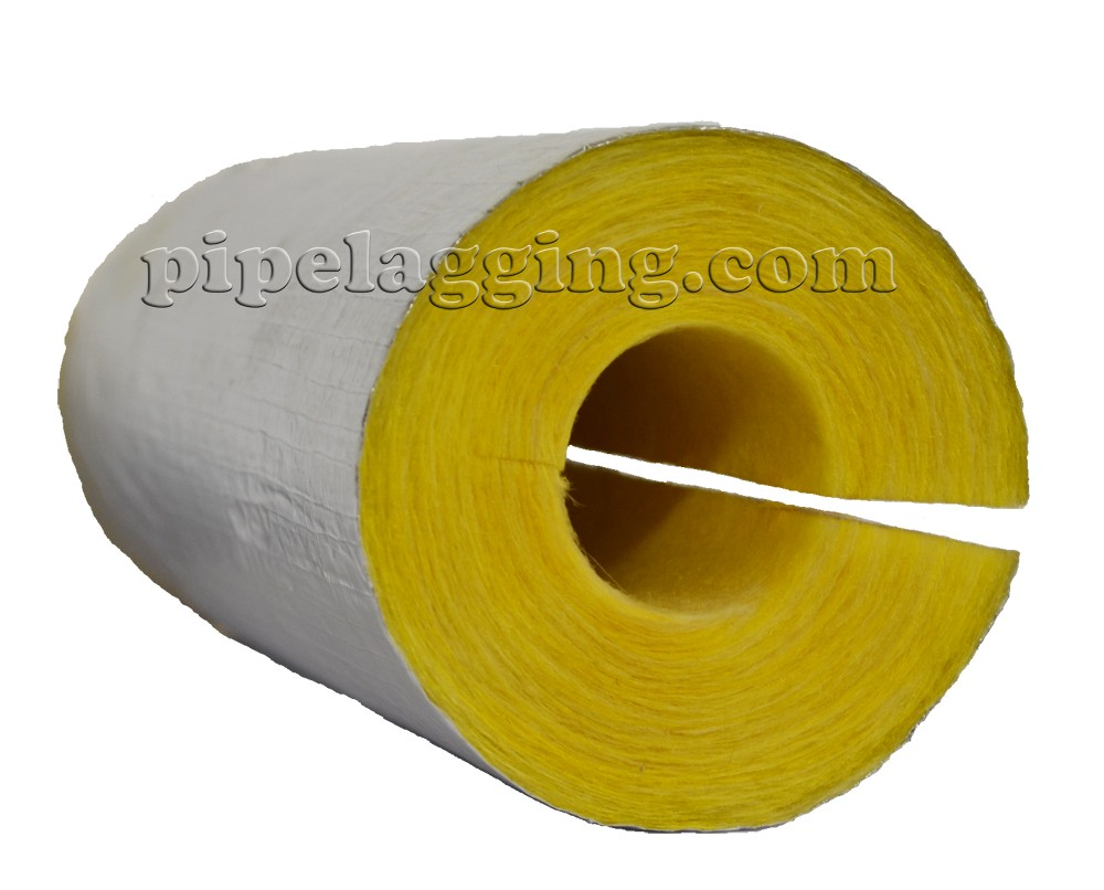 Glass Wool Foiled Pipe Insulation