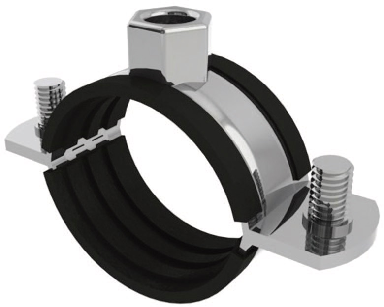 Rubber Lined Pipe Clips