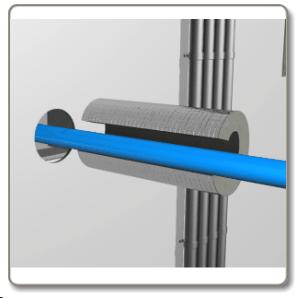 Firestop Thermal Pipe Sleeves