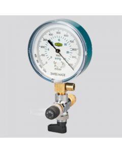 Refco 4663981 Refrigerant Vacuum Gauge Set 0 to 1000 Mbar