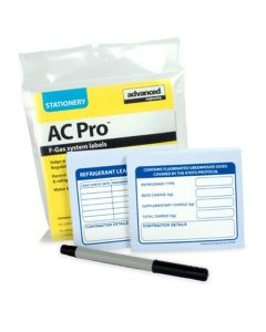 AC Pro (80037) F Gas Refrigeration System Labels