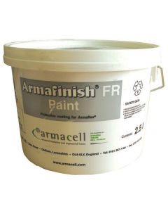 FINISH/GY-FR 2.5 litre Armaflex Pipe Insulation Lagging Paint Grey