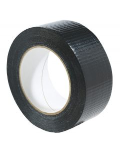 Black Duct Duct Gaffa Gaffer Cloth Adhesive Tape 30m Roll