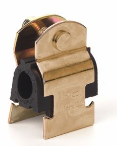 10mm 3/8 inch Pipe Channel Clip Cushion Clamp