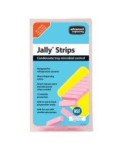 Jally Strip Condensate Tray Microbial Control - Pack of 50 strips