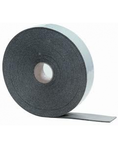 Kaimann Black Foam Pipe Insulation Lagging Tape 3mm Thick 50mm Wide 15m Long Class O ST-TAPE