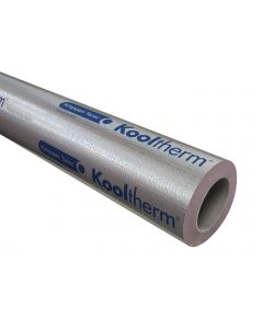 219mm Diameter 25mm Wall Kingspan Kooltherm Foil-FacedPhenolic Pipe Insulation
