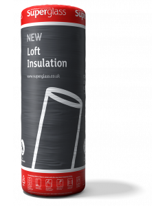 Superglass Multiroll 44 Loft Insulation 200mm Thick 1.2m Wide 4.85m Long