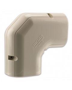 Inoac Plastic Pipe Trunking 60mm Horizontal Elbow