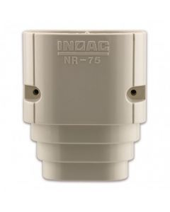 Inoac Plastic Pipe Trunking 60mm End Socket Nr-60
