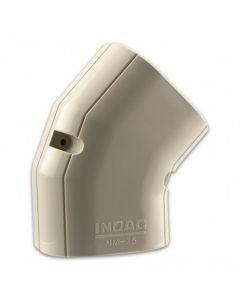 Nm-75 Inoac Plastic Pipe Trunking 75mm 45 Degree Horizontal Elbow Nm-75