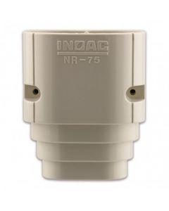 Nr-75 Inoac Plastic Pipe Trunking 75mm End Socket Nr-75