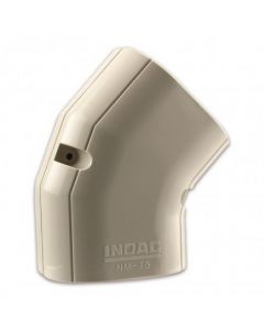 Nm-100 Inoac Plastic Pipe Trunking 100Mm 45 Degree Horizontal Elbow Nm-100