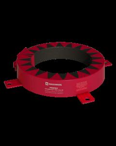 Rockwool CE Pipe Collar - 110mm Diameter