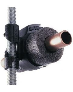 1 1/4 Plastic Drain M8 Stud Clip 80 Bag of 10 Tnc/08sc/80