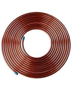 Air Conditioning Copper Tube Refrigeration Grade Pipe 6.4mm 1/4 30m