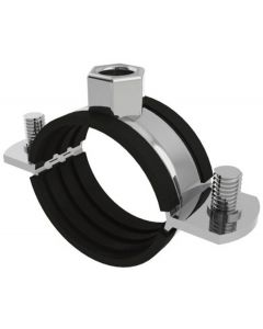 Rubber Lined Pipe Clamps-Rubber Lined-101-108mm