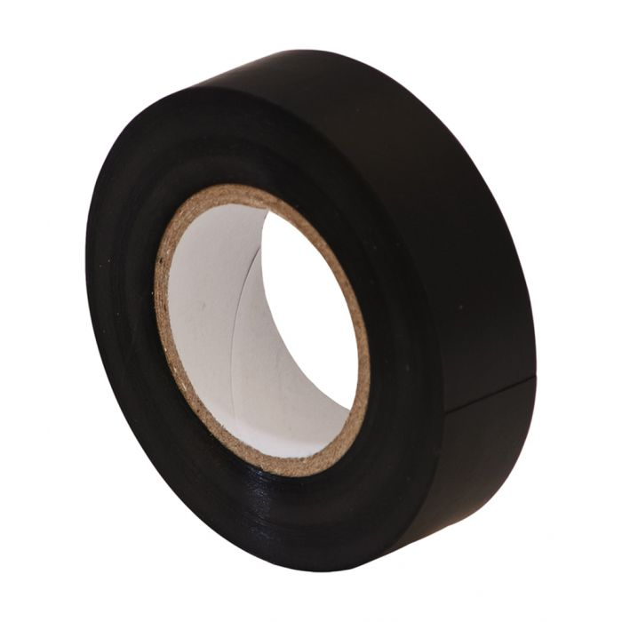 Black Electrical insulation tape black 33m x 19mm