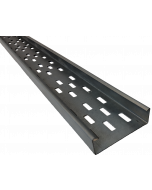 Pre-galvanised Mild Steel Cable Tray 3m Lengths