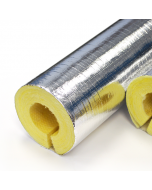 Isover ClimPipe Glasswool Pipe Insulation Alu2