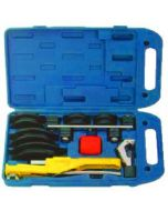 Javac Crossbow Pipe Bender in plastic case complete with pipe cutters JAV-404L