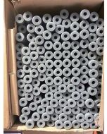 Armacell Tubolit Pipe Insulation 28mm x 25mm x 1m Pack of 33 Grey PE Lagging Boxed New